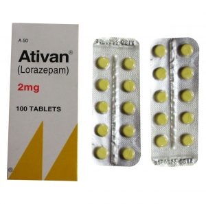 Ativan (Lorazepam) 2mg tablets