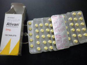 ativan box