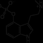 Psilocybin. Chemical formula. C12H17N2O4P.