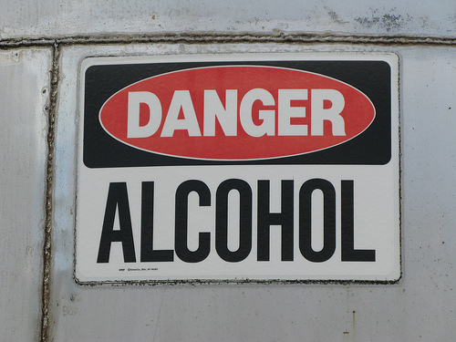 Danger alcohol