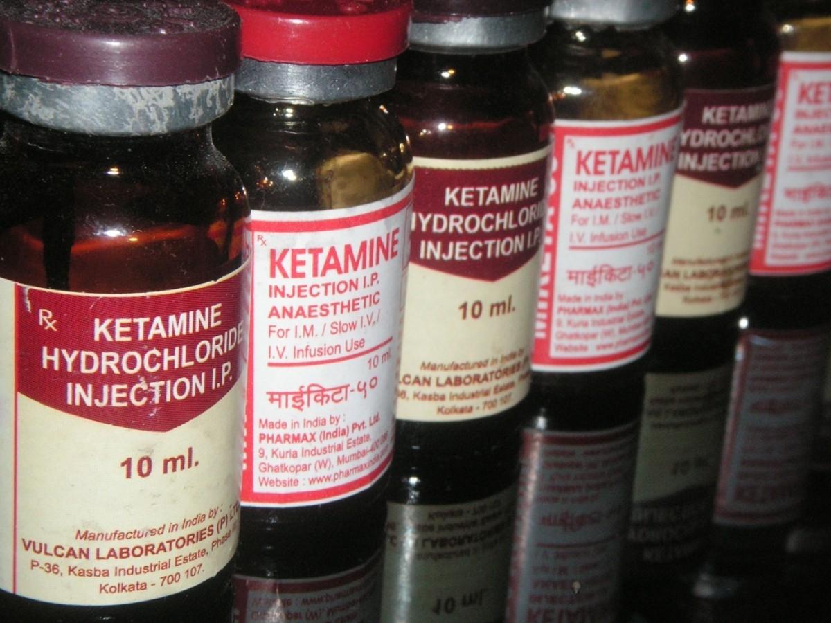 Drug ketamine. Anesthetic, analgesic, sedative.