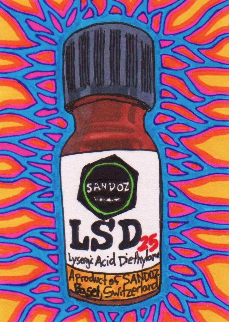 Acid drug, pictures