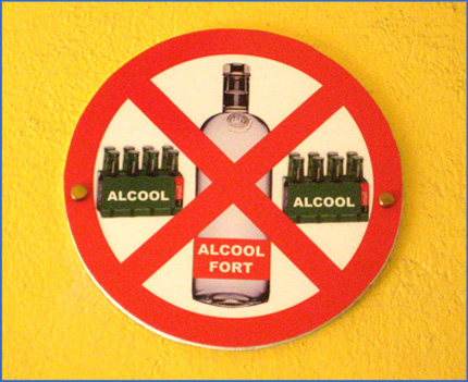 Symptoms of alcohol and the effects of alcohol on health. Alcohol, Attention, Danger!
