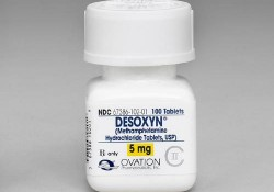 Medical Methamphetamine - Desoxyn (Methamphetamine Hydrochloride Tablets, USP, 5 mg, OVATION, 100 Tablets, R only)