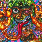 Hallucinations under the influence of an LSD