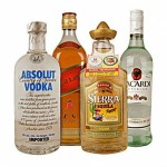 How many calories in a Vodka, whiskey, rum, gin? (250 kcal)