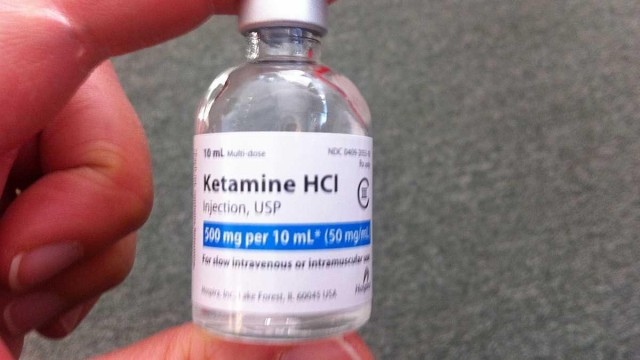 Medical ketamine photo.