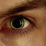 Methamphetamine pupils of the eyes