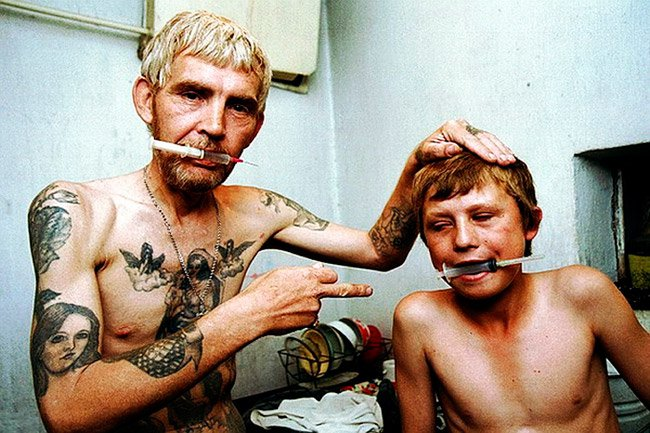 Terrible pictures of drug addicts