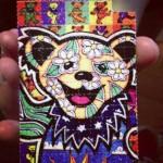 Acid drug 2. Images LSD, acid drug.