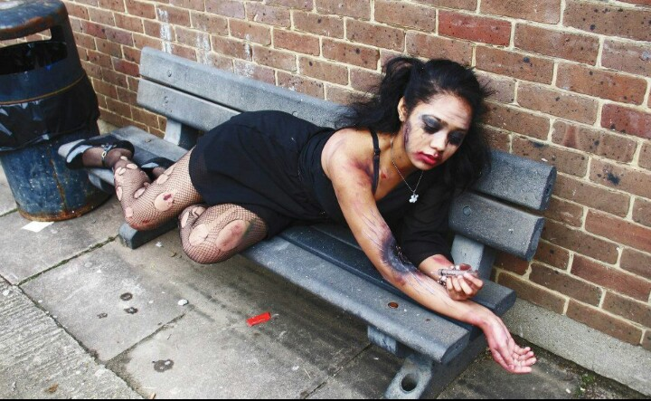 heroin addiction pictures