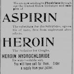 heroin was used as medicine earlier