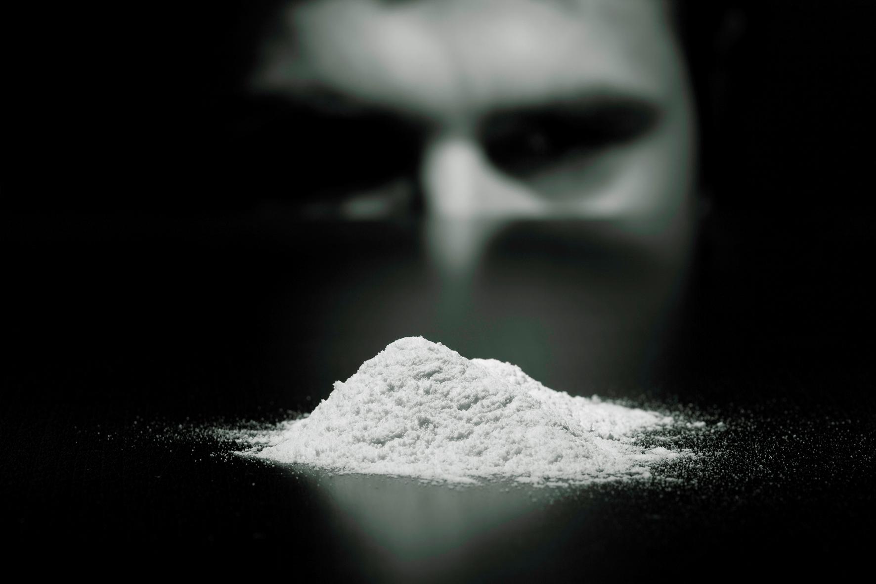 Drug photos. Cocaine. 7.